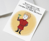 Happy birthday, Printable Card, Game of Thrones, , Cute Birthday Card, Birthday