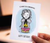 Happy birthday, Printable Card, Game of Thrones, Jon Snow, warg