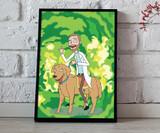 Rick and Morty - Custom portrait