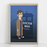 Doctor Who Wall art - Digital poster