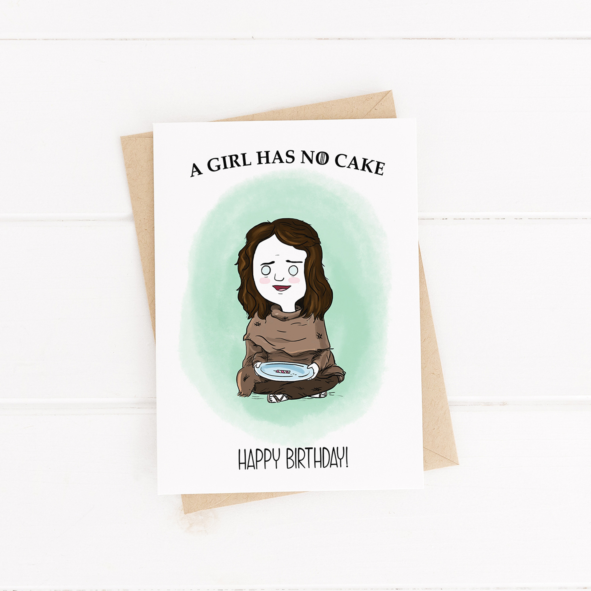 Happy Birthday Card Printable Card Game Of Thrones Arya