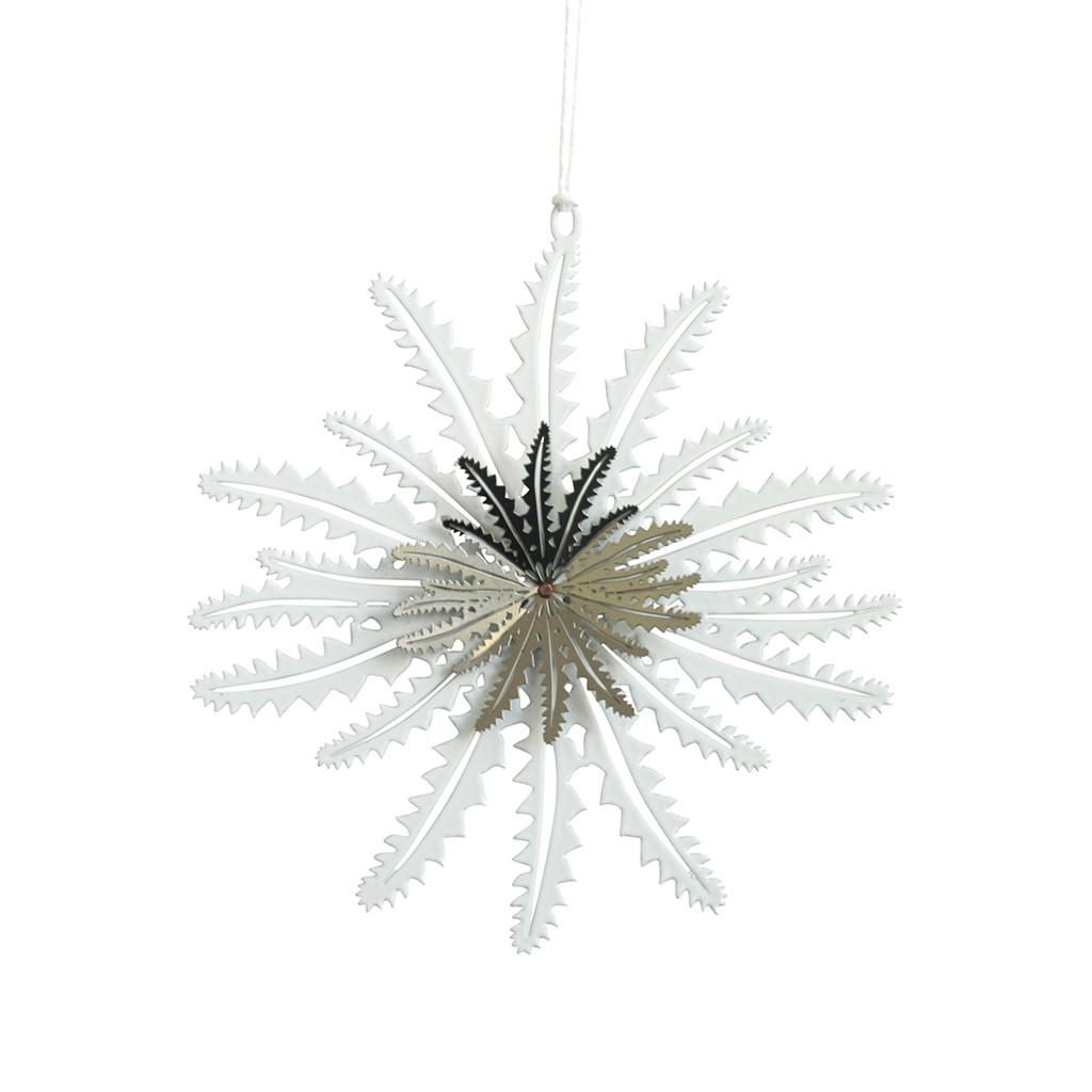 Banksia leaf snowflake