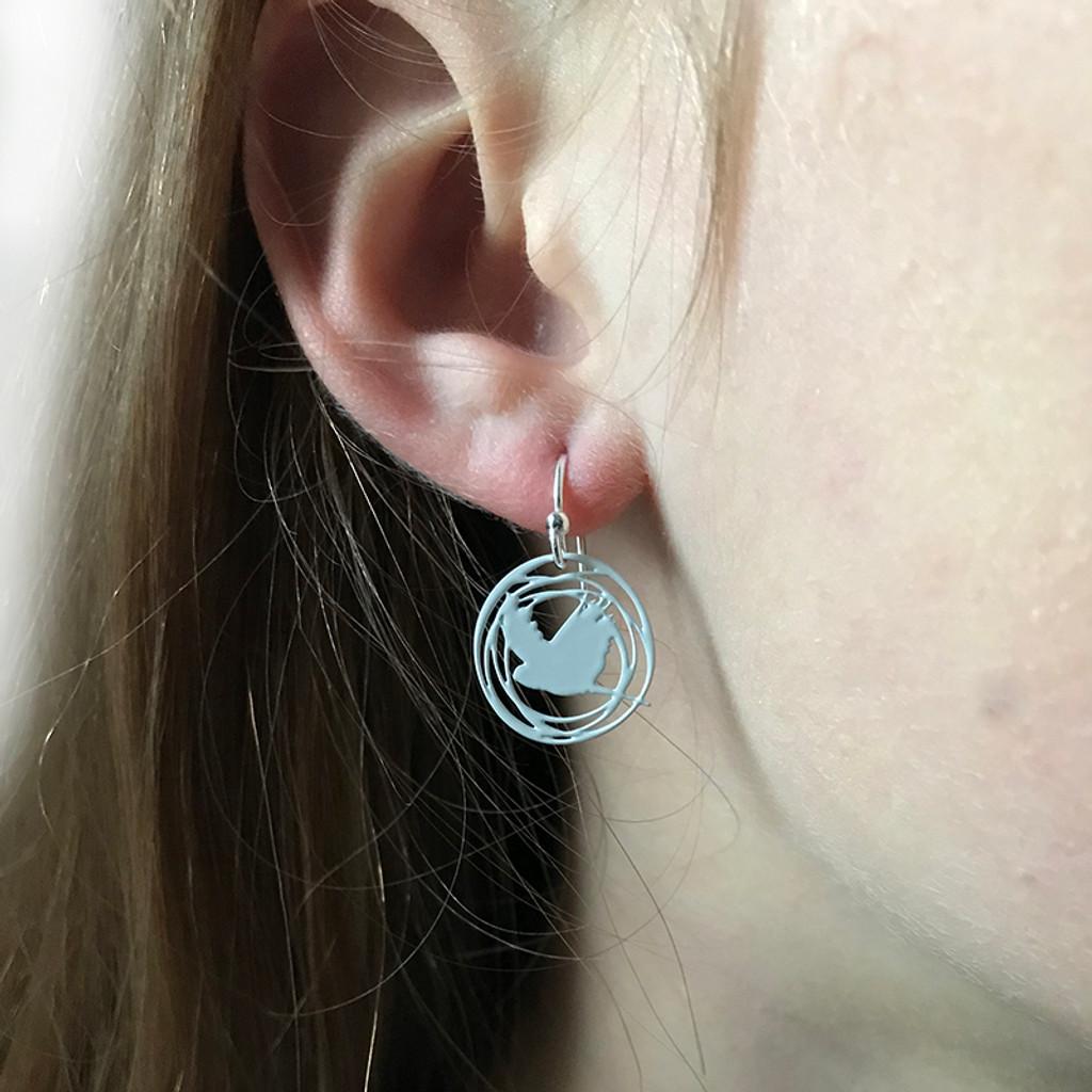 Flight earrings
