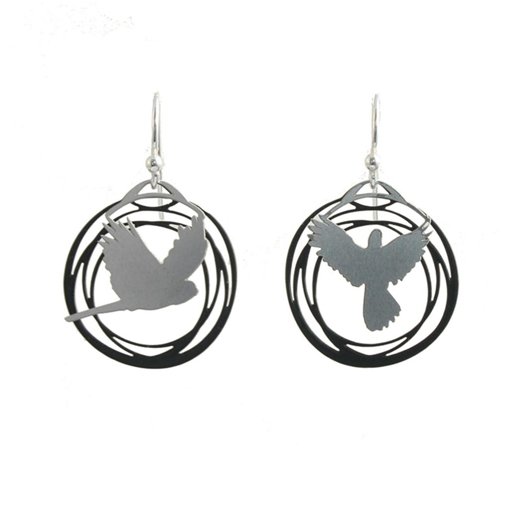 Flight earrings (Colour back)