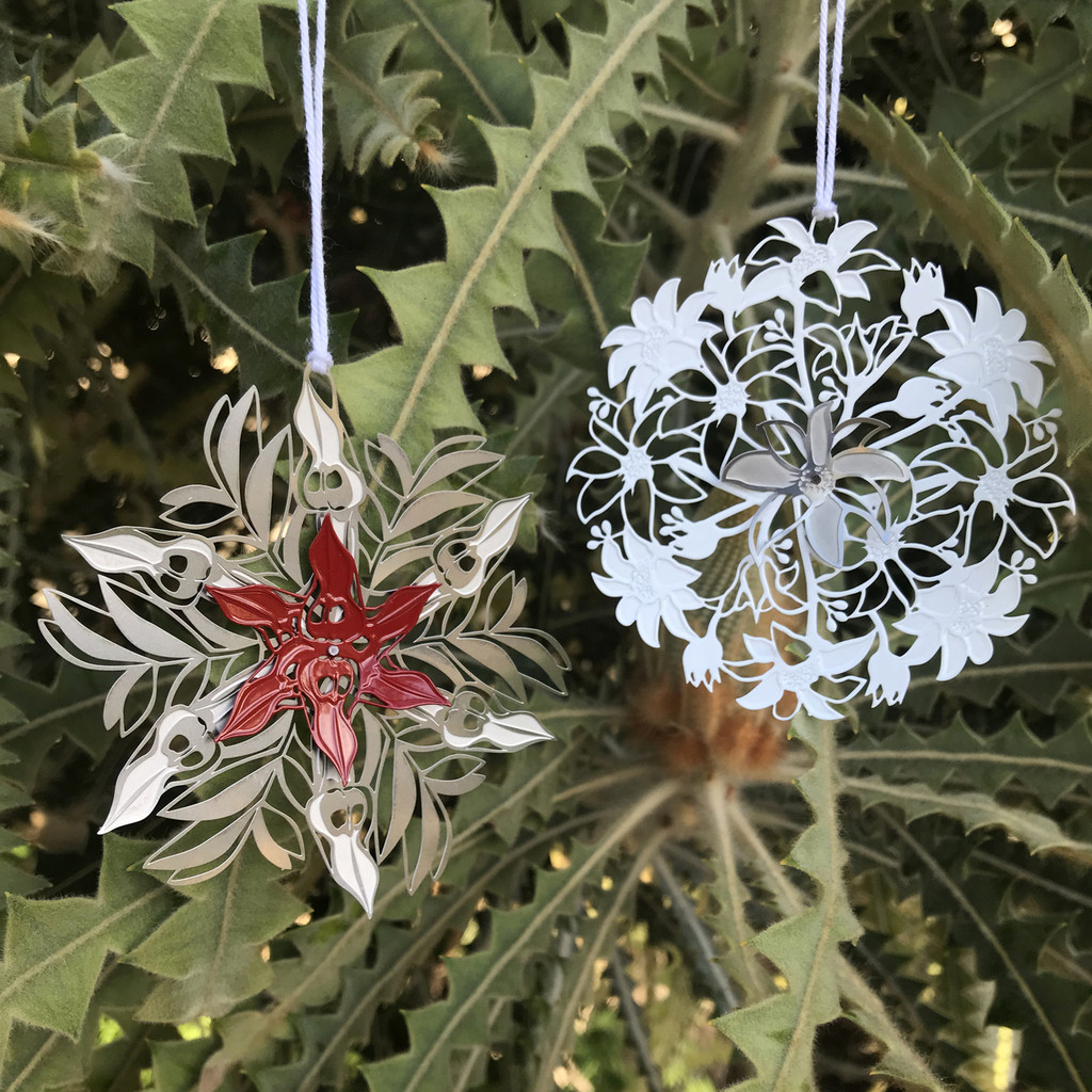 Flannel Flower Snowflake