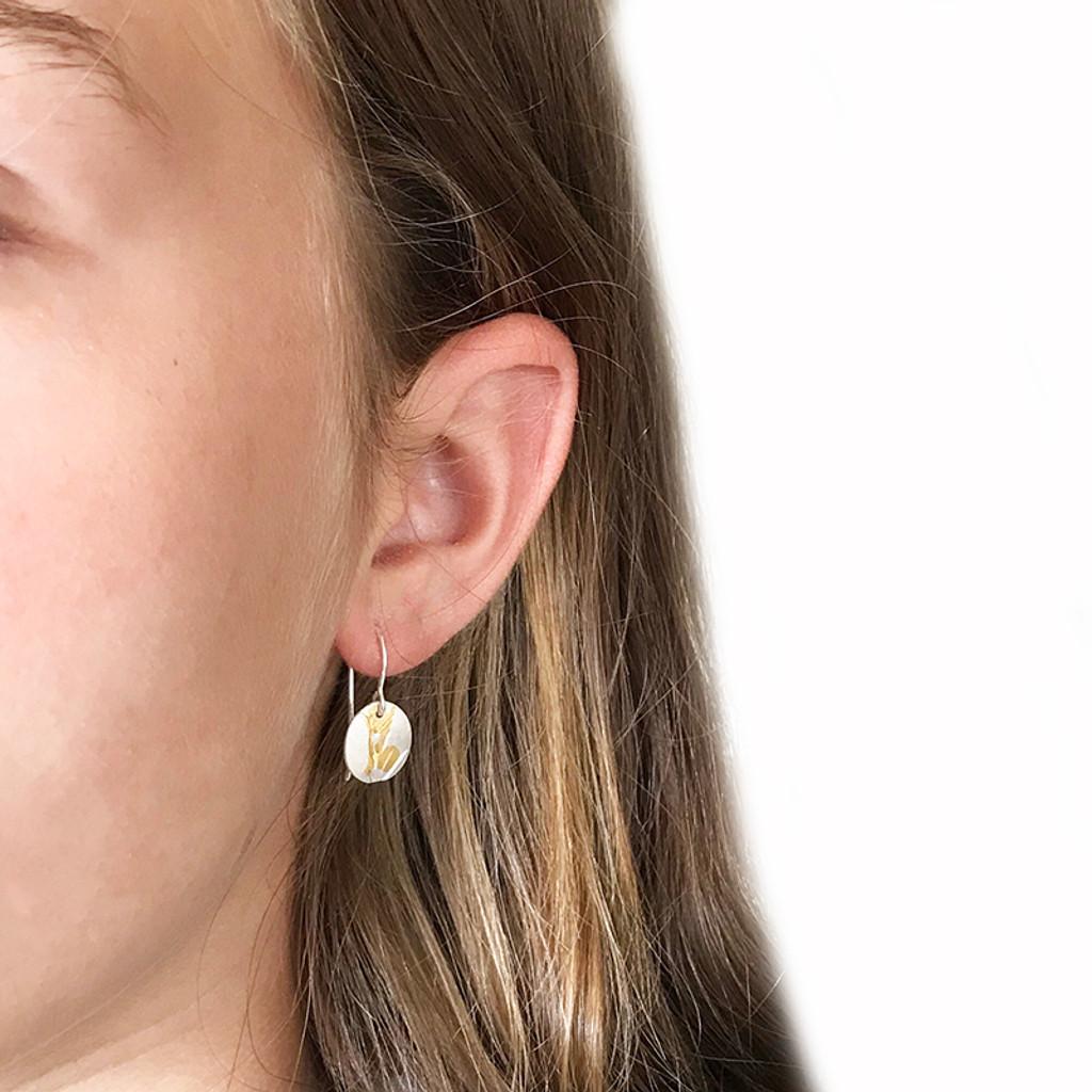 Small Wattle earrings
