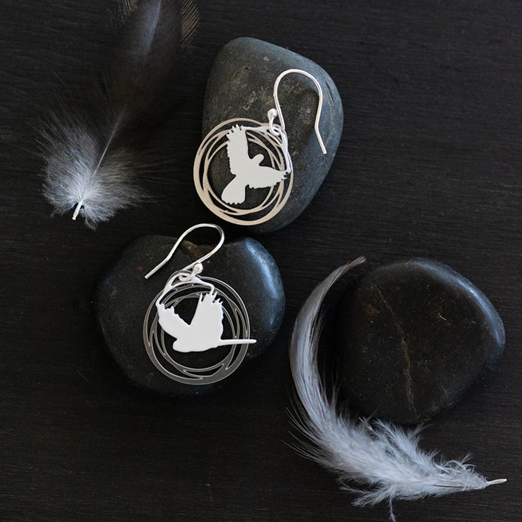 Flight earrings (Colour front)