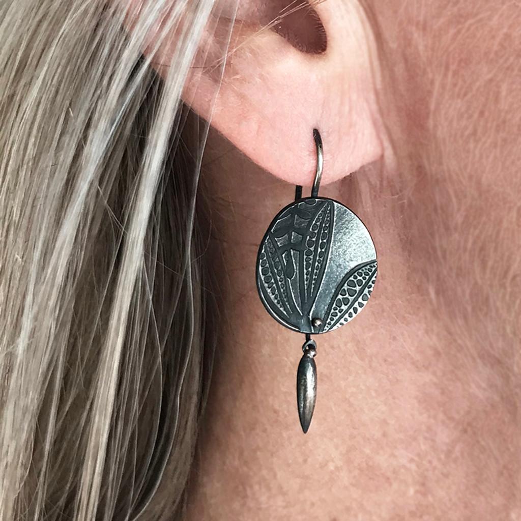 Eremophila spear earrings