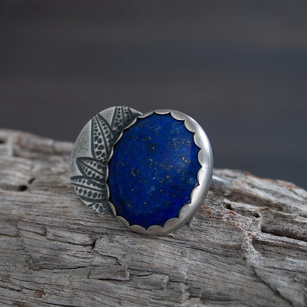 Azul Lapis Lazuli Cocktail ring