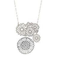 Multi flower necklace