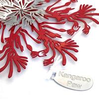 Kangaroo Paw snowflake