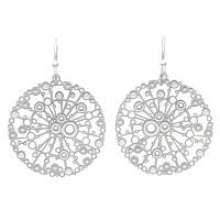 Dotty urchin earrings large