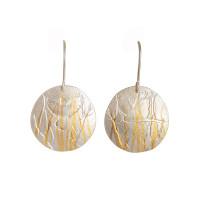 Cockatoo earrings