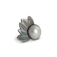 Banksia Mabe pearl Cocktail Ring