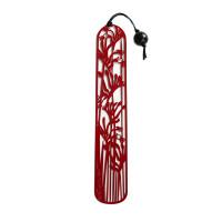 Red steel Kangaroo Paw bookmark