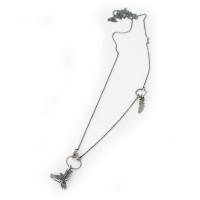 Sterling silver Flight necklace
