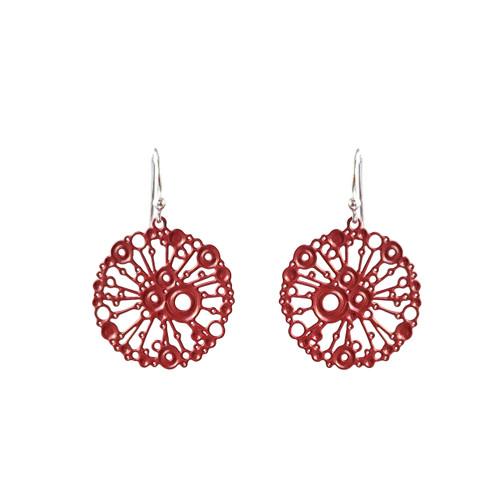 Dotty urchin earrings sml