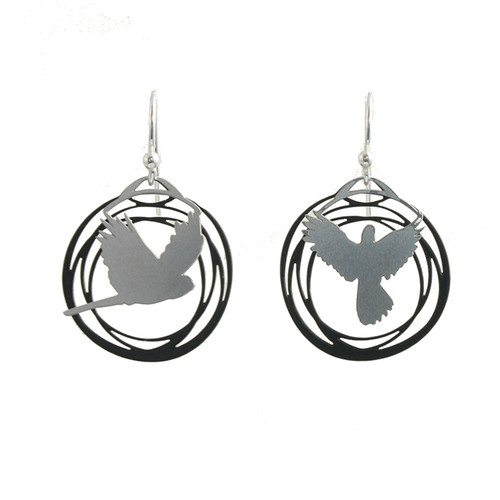 Flight earrings (Colour back)