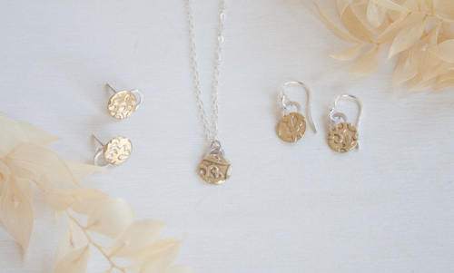 "Mixed metal brass and silver jewellery that gives back: Introducing the ""UNITY"" collection"