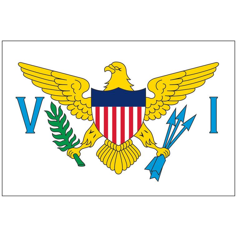 Virgin Islands Territory Nylon Flag