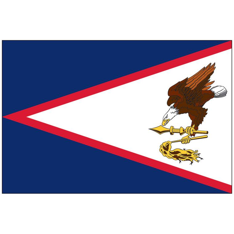 American Samoa Territory Nylon Flag