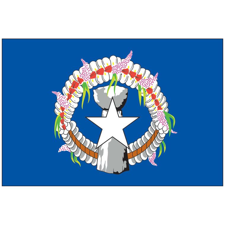 Northern Mariana Islands Territory Nylon Flag