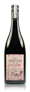 Saint Clair Pioneer Block 17 Plateau Block Syrah Hawke's Bay New Zealand