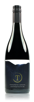 2015 Takapoto Single Vineyard Bannockburn Pinot Noir Central Otago New Zealand