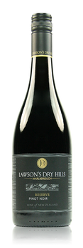 Lawson's Dry Hills Reserve Pinot Noir Marlborough New Zealand