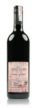 Saint Clair Pioneer Block 17 Plateau Block Merlot Hawke's Bay New Zealand