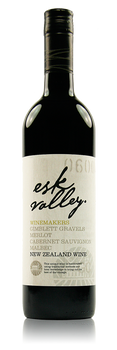 Esk Valley Winemakers Reserve Merlot Cabernet Sauvignon Hawke's Bay New Zealand