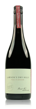 Lawson's Dry Hills Pioneer Pinot Noir Marlborough New Zealand