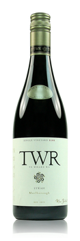 Te Whare Ra Single Vineyard 5182 Syrah Marlborough New Zealand