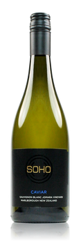 Soho Caviar Barrel Fermented Sauvignon Blanc Marlborough New Zealand