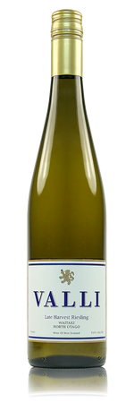 Valli Waitaki Late Harvest Riesling New Zealand