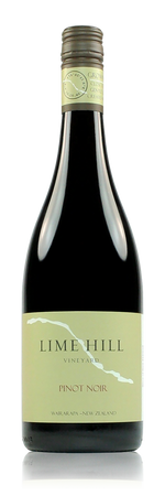 Lime Hill Vineyard Pinot Noir Masterton New Zealand
