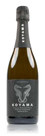 Koyama Methode Traditionelle Sparkling Brut Waipara New Zealand