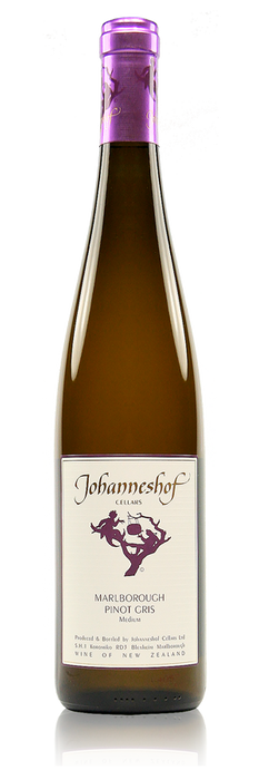 Johanneshof Pinot Gris Marlborough New Zealand