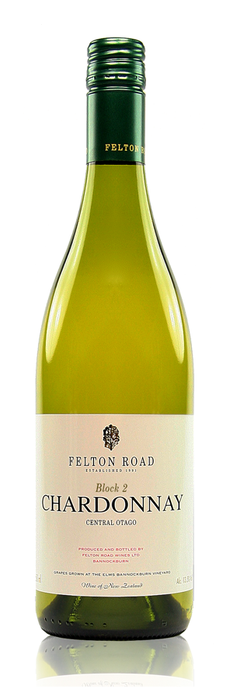 Felton Road Block 2 Chardonnay Bannockburn Central Otago New Zealand