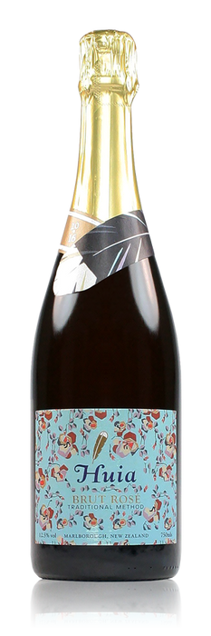 Huia Organic Sparkling Brut Rose Marlborough New Zealand