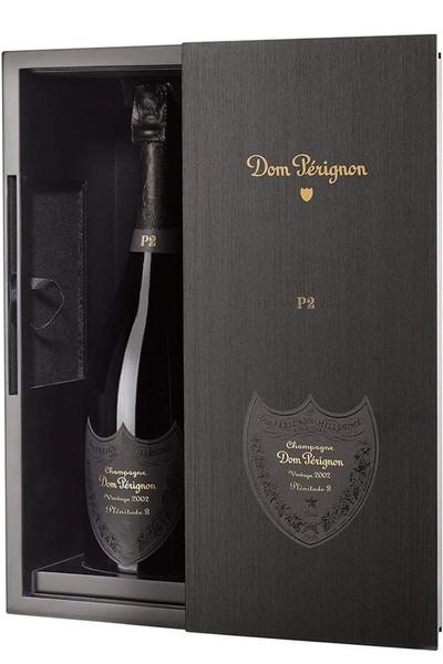 Dom Perignon P2 Champagne 2002 in gift box