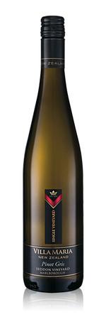 Villa Maria Single Vineyard Seddon Pinot Gris Marlborough New Zealand