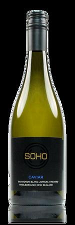 Soho Caviar Barrel Fermented Sauvignon Blanc Marlborough New Zealand