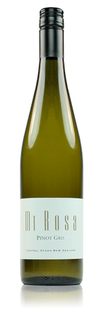 Mt Rosa Pinot Gris Off Dry Central Otago New Zealand