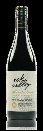 Esk Valley Winemakers Reserve Syrah Gimblett Gravels Hawke's Bay New Zealand