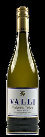 Valli Vendemmia Tardiva Pinot Gris Waitaki Valley New Zealand
