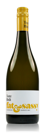 Tony Bish Fat and Sassy Chardonnay Hawke's Bay New Zealand