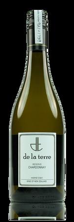 de la terre Reserve Chardonnay Hawke's Bay New Zealand