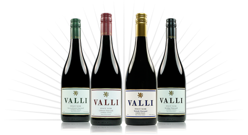 Valli Sub Region Pinot Noirs