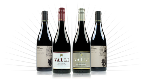 Valli and Burn Cottage Collaboration Pinot Noir Pack